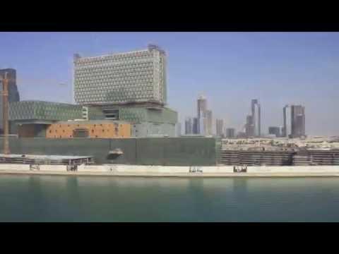 Time Lapse 2014: Cleveland Clinic Abu Dhabi