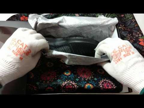 Nike Free Train Force Flyknit Triple Black by Riccardo Tisci 💓 ASMR unboxing video