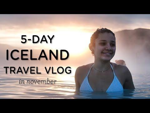 5-DAY ICELAND TRAVEL GUIDE ‣‣ Iceland Vlog November