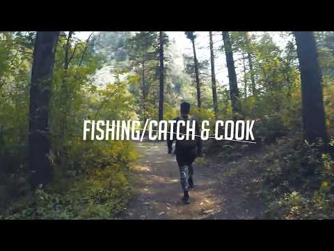 Upper/Lower Palisades Hike Fishing Catch/Cook