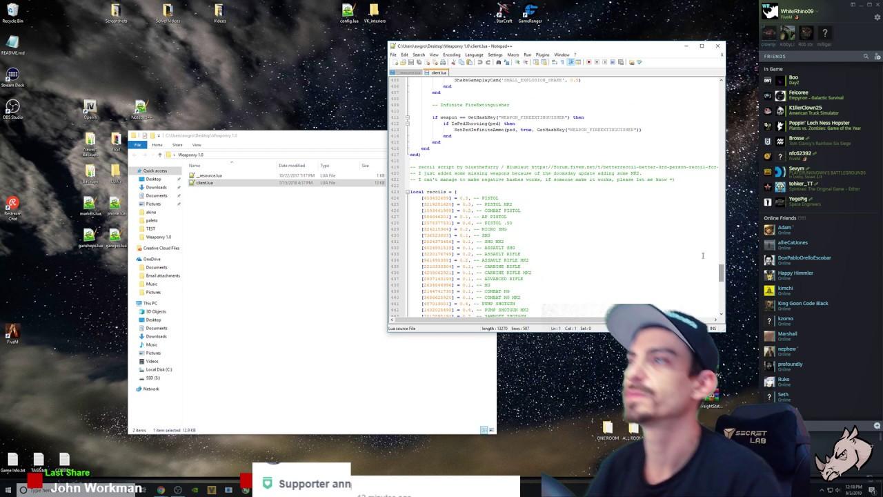 Server Development GTA V FiveM
