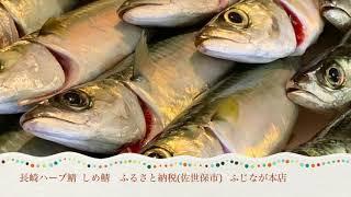 長崎ハーブ鯖 しめ鯖  ふるさと納税(佐世保市) ふじなが本店