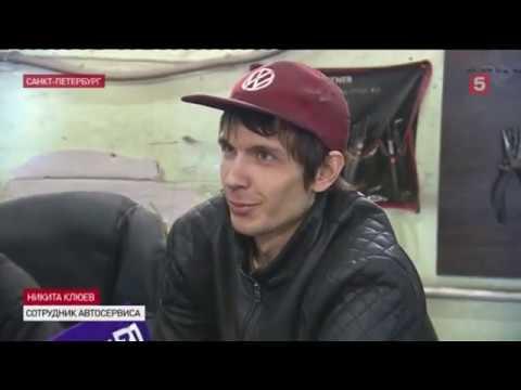 В Петербурге сотрудник автосервиса протаранил машину грабителей