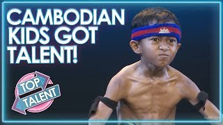 TALENTED KIDS On Cambodia's Got Talent 2018! | Top Talent