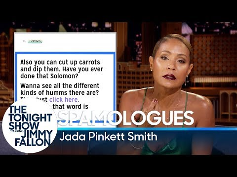 Spamologues with Jada Pinkett Smith