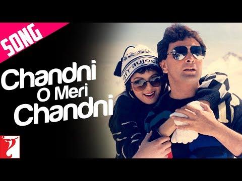 Chandni O Meri Chandni Song | Chandni | Rishi Kapoor | Sridevi | Jolly Mukherjee