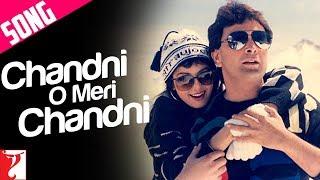 Chandni O Meri Chandni Song  Chandni  Rishi Kapoor  Sridevi  Jolly Mukherjee