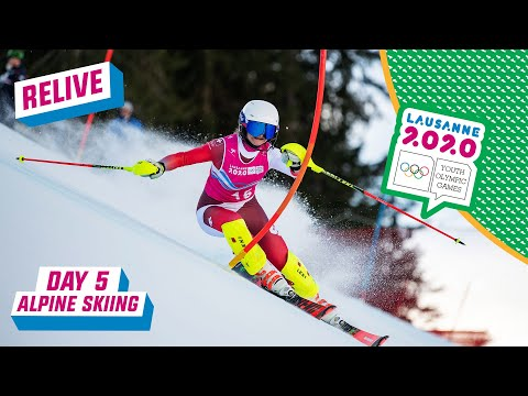 RELIVE - Alpine Skiing - Slalom Run 2 - Day 5 | Lausanne 2020