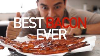 Easiest Way to Cook Bacon (no clean up or splatter)- BenjiManTV