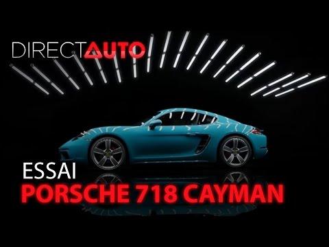 Essai - PORSCHE 718 CAYMAN : Instinct sauvage !