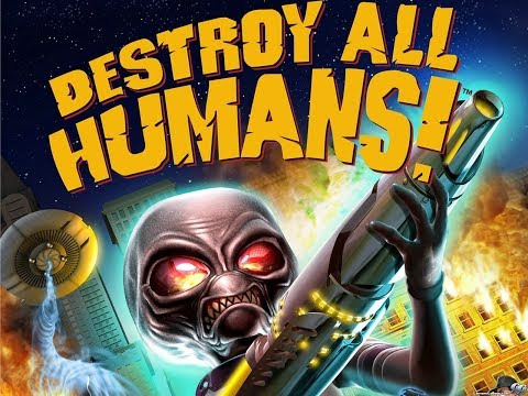 Destroy All Humans PS4 Mission 17 Mr Crypto Goes To Capitol City 1080p