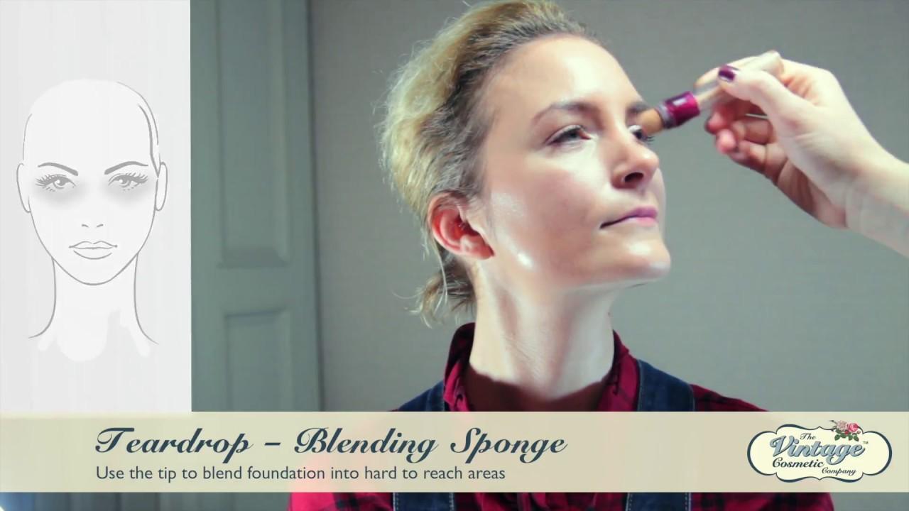 Blending sponge tutorial by the vintage cosmetic company youtube blending sponge tutorial by the vintage cosmetic company baditri Choice Image