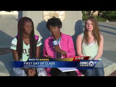 Free State High freshmen head back to class