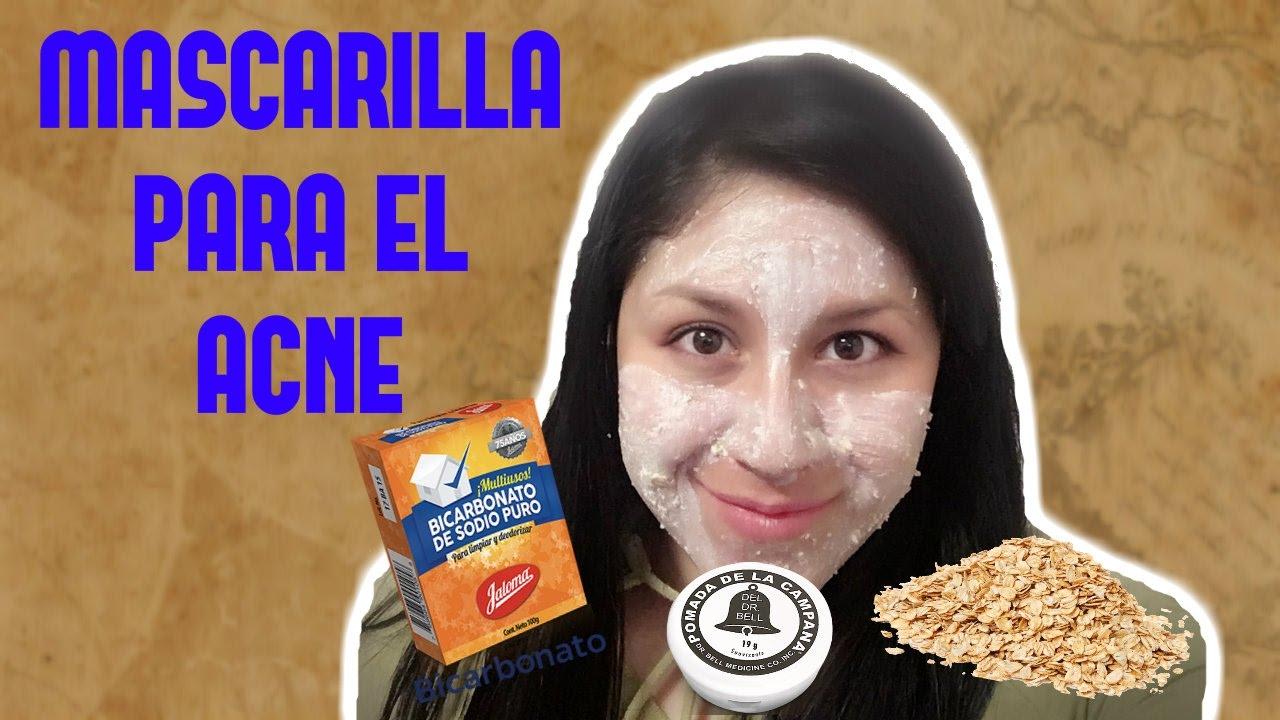 Mascarilla Para El Acné Con Pomada De La Campana Youtube