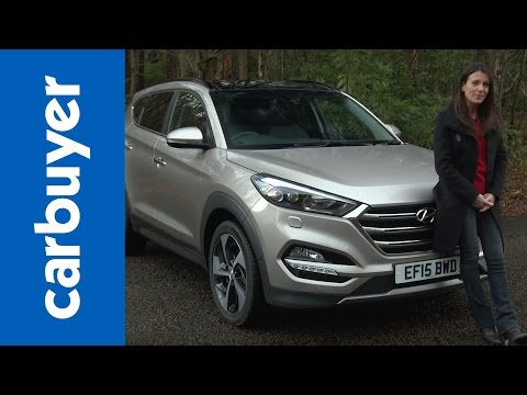 Hyundai Tucson SUV review - Carbuyer