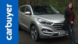 Hyundai Tucson SUV review Carbuyer