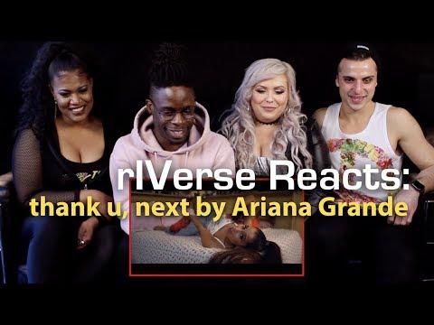 rIVerse Reacts: thank u next by Ariana Grande - MV Reaction