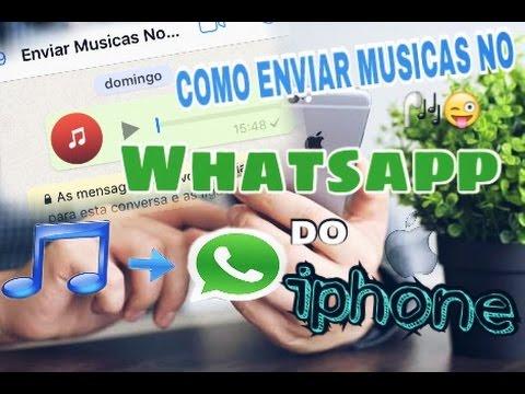 como baixar musica no iphone e enviar pelo whatsapp