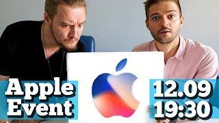 Презентация Apple iPhone 8/X и РОЗЫГРЫШ на русском