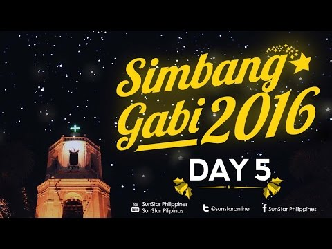 Simbang Gabi/Misa de Gallo – Day 5