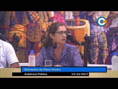Audiência Públicas - Alteração no Plano Diretor - 13/12/2017
