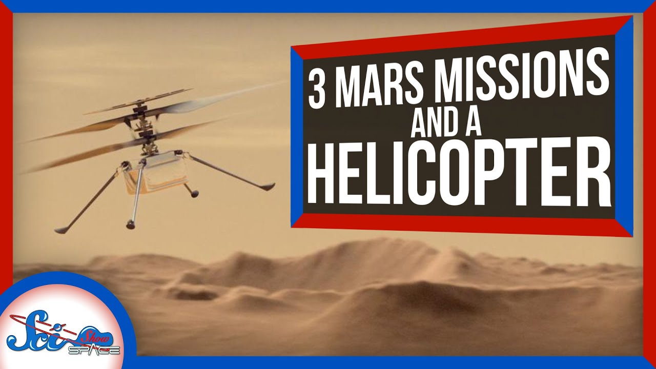 3 New Missions Just Left for Mars! | SciShow News