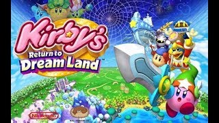[LET'S PLAY] Kirby's Return to Dream Land on the WII! YEAHHHH