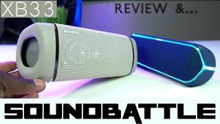 Sony SRS XB33 Review & VS The SRS XB 32 😞