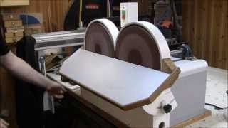 Shopmade Double Disc Sander