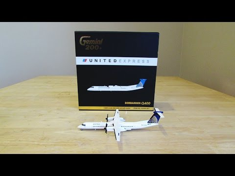 Model Of The Month: United Express Dash-8 Q-400