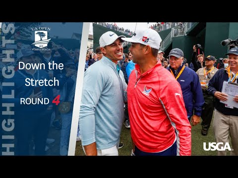 2019 U.S. Open, Round 4: Highlights Down the Stretch
