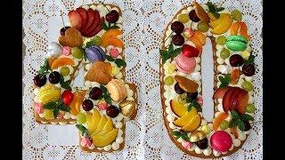 Торт цифра. Медовые коржи для торта. Торт буква. Торт с фруктами. Сборка торта. Моя Dolce vita