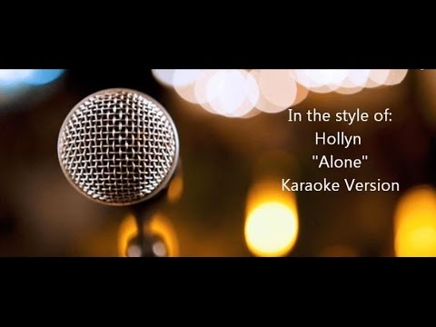"Hollyn ""Alone"" Feat. TRU - Karaoke Version"