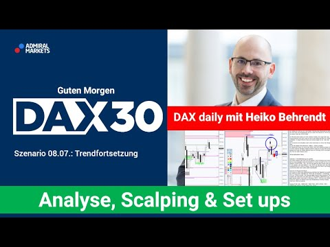 DAX aktuell: Analyse, Trading-Ideen & Scalping | DAX30 | CFD Trading | DAX Analyse | 08.07.2020