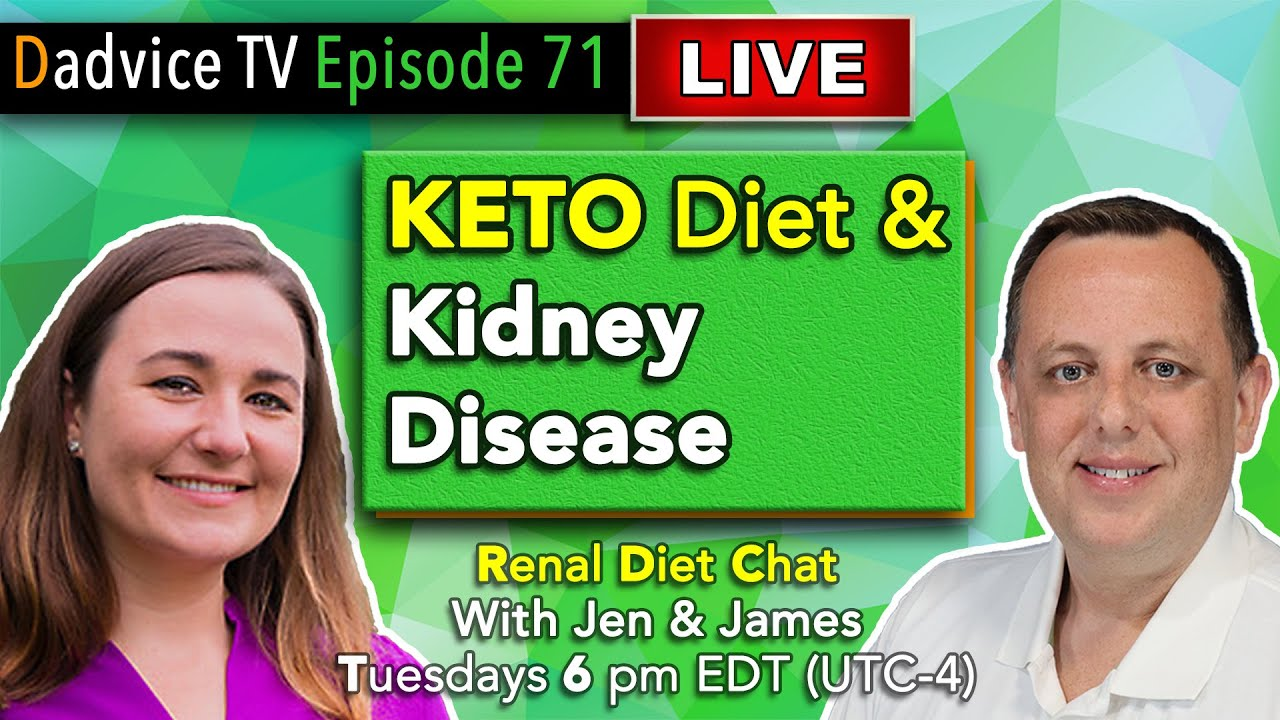 keto diets and end stage renal disease
