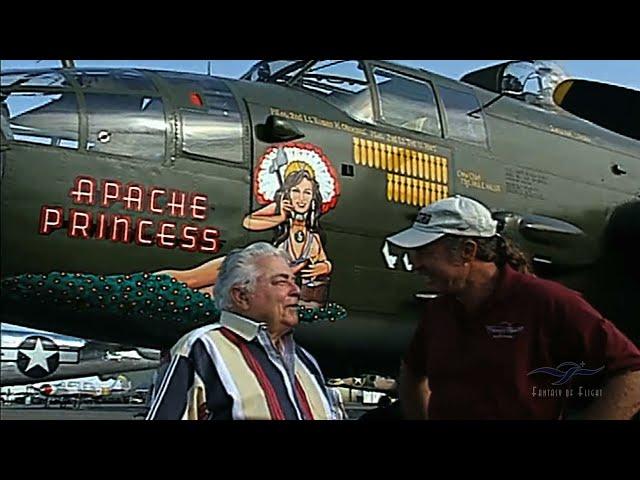 B-25 Apache Princess - Jay Moore Pilots a B-25 Again! - Part 1
