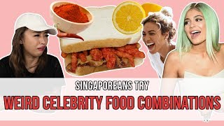 Singaporeans Try: Weird Celebrity Food Combinations   EP 108