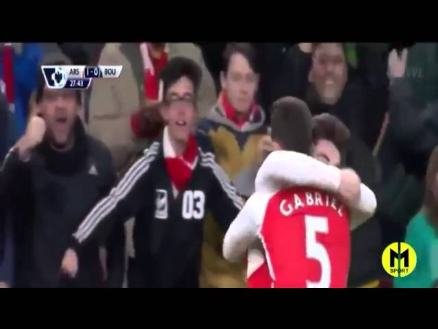 Arsenal vs Bournemouth 2-0 All goals and Highlight 29 December 2015.