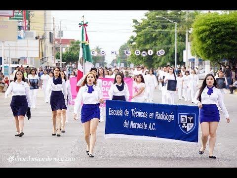 Desfile Del 20 De Noviembre 2018 - Conmemorando La Revolución Mexicana En Los Mochis