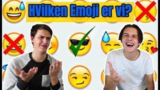 TEST DIG SELV: Hvilken Emoji er vi?!