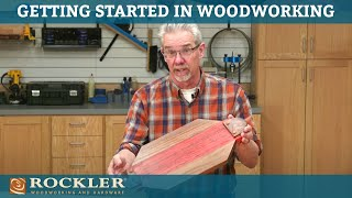 Simple Serving Tray - Getting Started in Woodworking