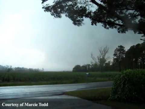 Raw Video: Tornado In Bertie County, N.C., April 16