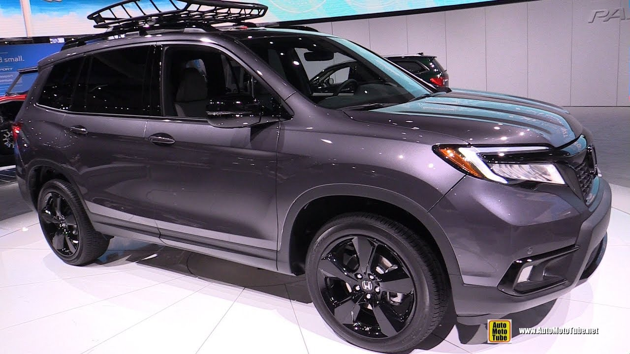 2019 honda passport exterior and interior walkaround debut at 2018 la auto show