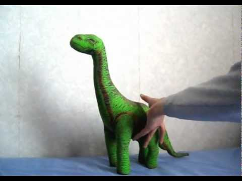 Aurora Monkey Stuffed Animal, Jurassic Park Brachiosaurus Soft Toy Youtube
