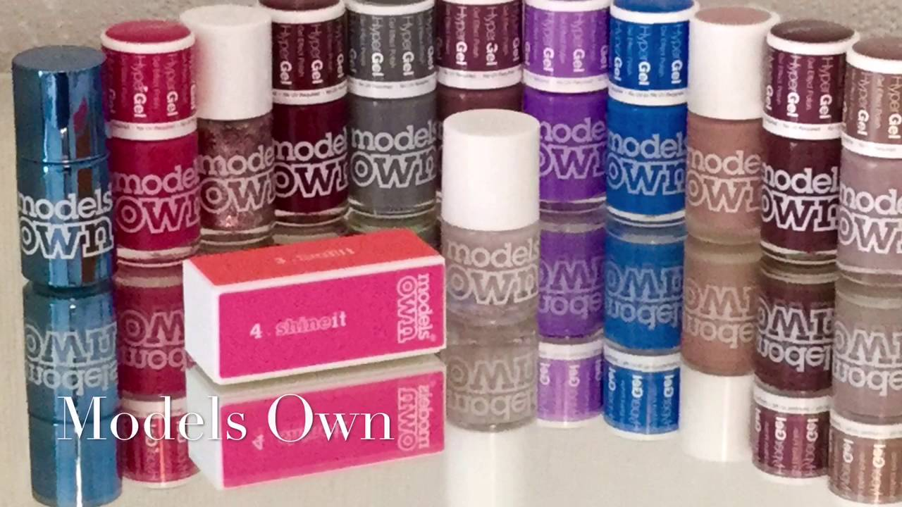 Models Own Nail Polish Collection & Storage - YouTube