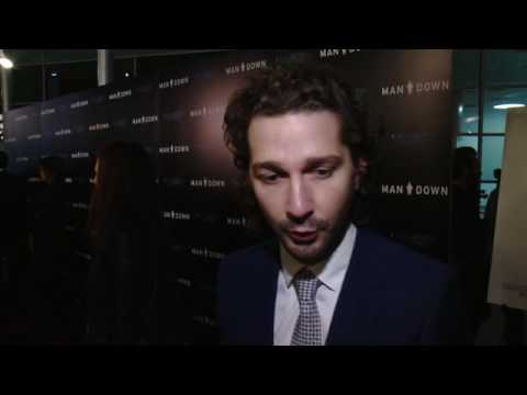 Man Down LA Premiere - Shia LaBeouf