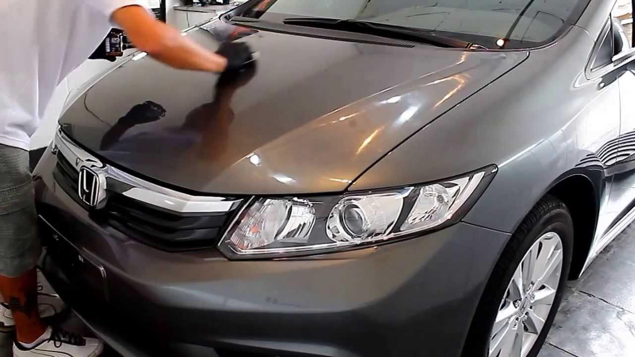 Honda Civic Vitrifica 231 227 O De Pintura Signorini Estetica