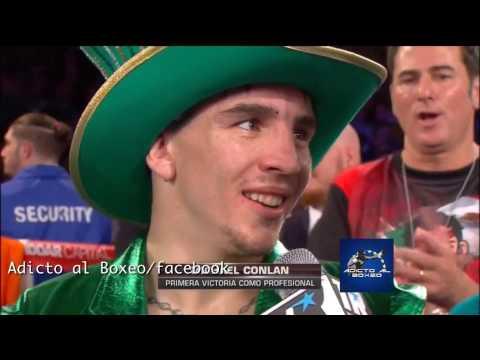 Michael Conlan Post Fight Interview - Pro Debut