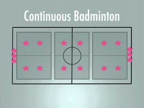 P.E. Games - Continuous Badminton