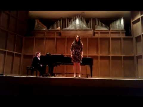 """A Letter from Sullivan Ballou"" performed by Chyna Cheaney, Soprano"
